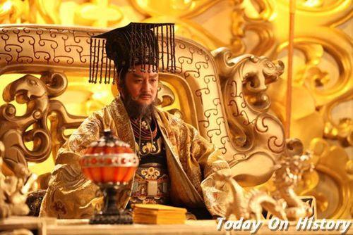 隋朝开国皇帝杨坚是谁的儿子