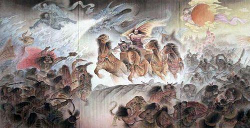 黄帝与蚩尤之战