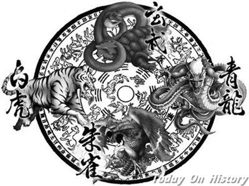上古神话四大凶兽vs四大神兽