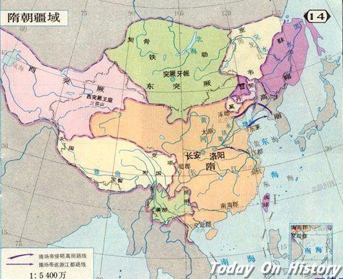 隋炀帝是怎样收复台湾岛的?