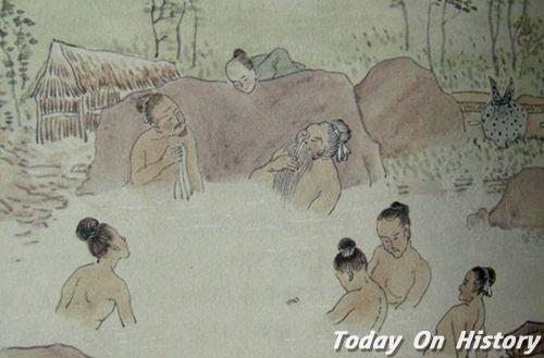 商族人祭祀之前需沐浴净身