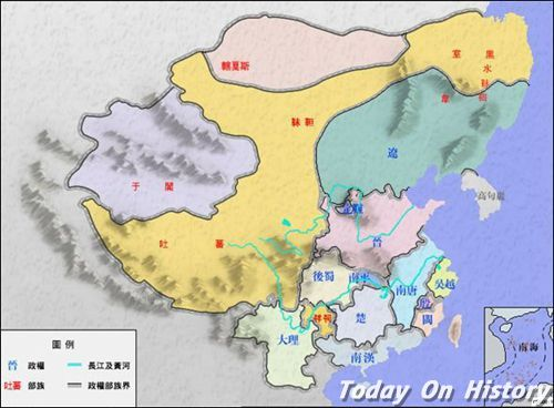 南吴疆域范围 五代十国南吴的行政区划