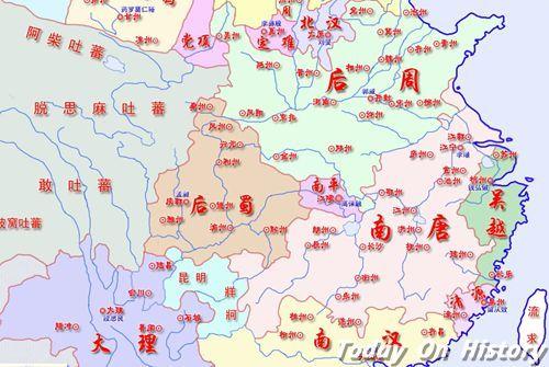 南唐疆域面积 南唐疆域如何变化?