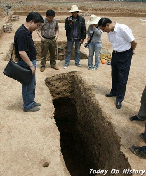 西安发掘30座隋代小型墓葬