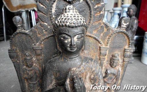 富县出土300余件佛教造像石刻