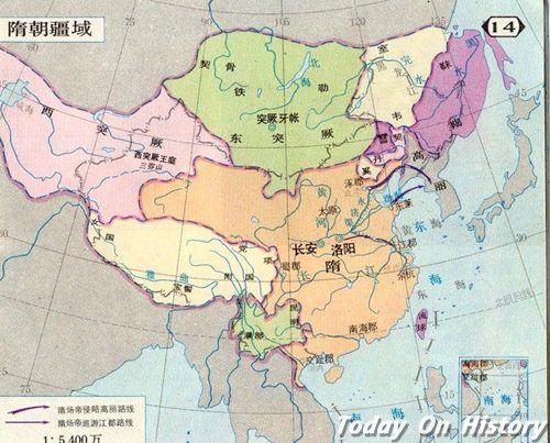 隋朝时期的边疆政权都有哪些