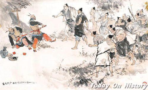 陈胜吴广选择在大泽乡起义只是巧合吗?起义地点怎么确定