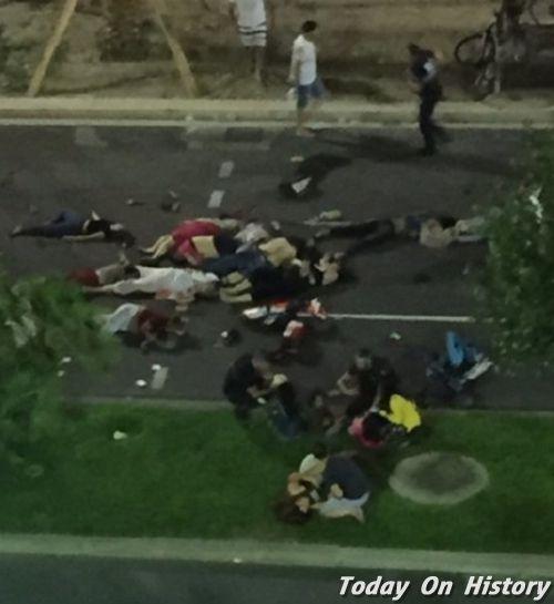 法国尼斯袭击事件造成逾80人死亡 奥巴马实力发声提供协助