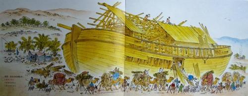 圣经中的诺亚方舟真的存在吗?神秘的诺亚方舟之谜