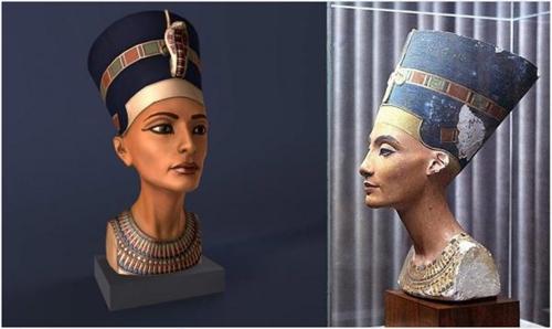 """""""年轻女子""""的身份之谜 古埃及皇后娜芙蒂蒂的神秘身份"""