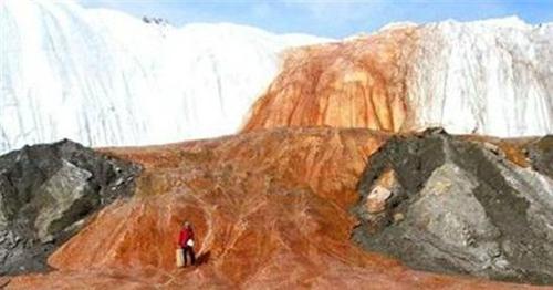 南极洲的血瀑布 全球十大诡异自然现象你知道几个?