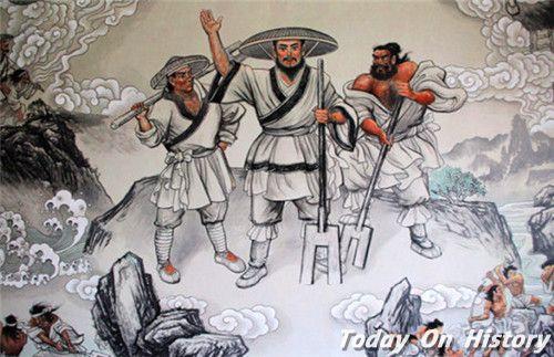 中国古代最早军法是哪一部 甘誓的内容是什么意思