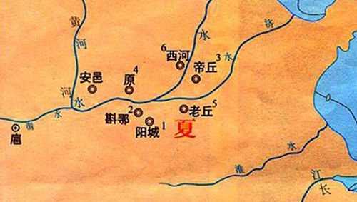 夏禹划九州是哪九州 夏朝的方国指的是什么