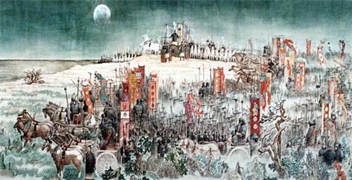 周武王孟津观兵检阅实力 商纣王为何没有对其进行讨伐呢