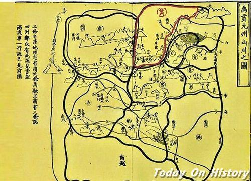 《禹贡地域图》作者是谁 《禹贡地域图》开创中国古代地图绘制学