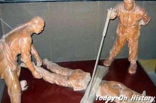 腰斩的犯人并非立马死亡 而是在流血和恐惧中慢慢死去