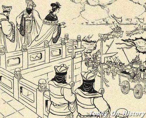 烽火戏诸侯的意思 周幽王为什么要烽火戏诸侯