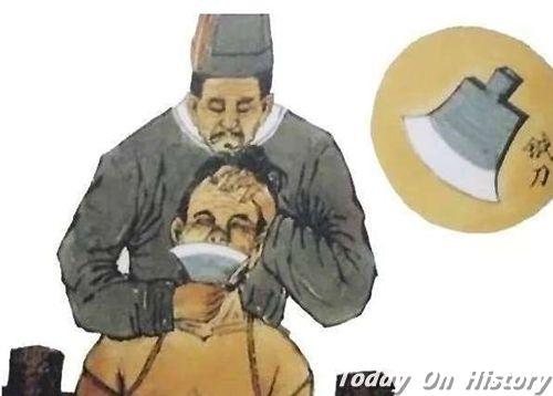 残忍的刑罚方式之一——劓刑 到了西汉时期才被废