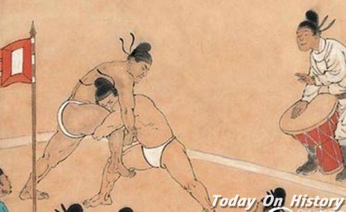 宋朝相扑成民间娱乐活动 女子相扑堪称京城一绝