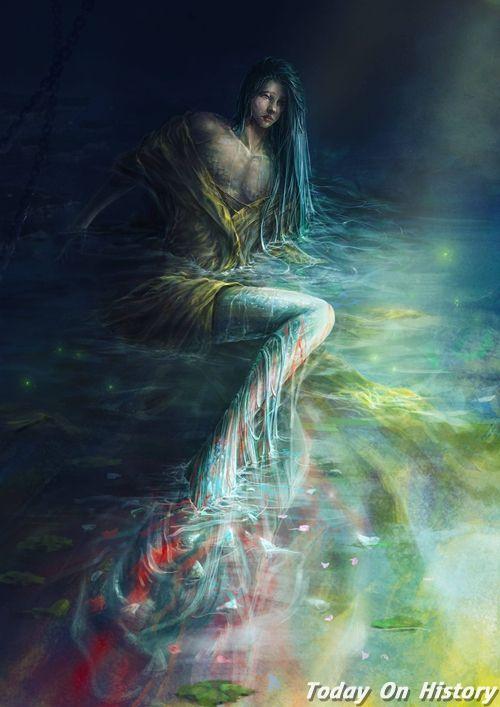 《山海经》中的五只奇趣异兽 东方美人鱼出自山海经