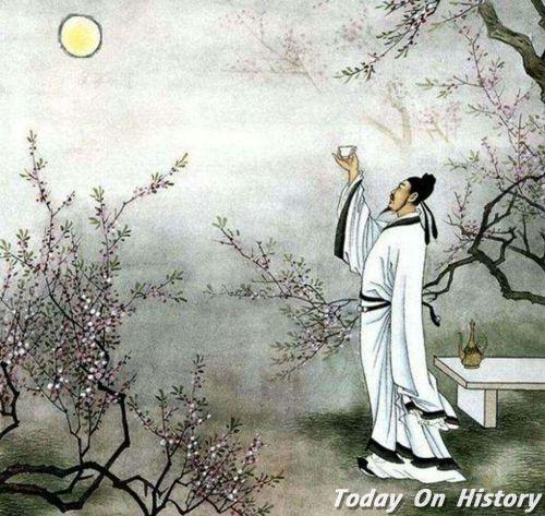 李白七岁出口成诗 名字由来与诗有关