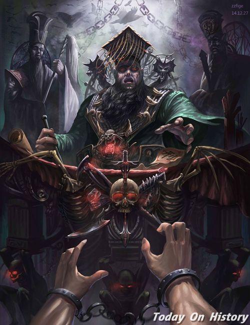 地府里最大的权力者并不是阎王 阎罗王只是个小官