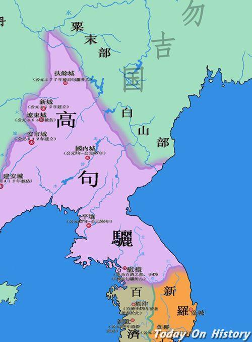 朝鲜三国时代简介 朝鲜三国时代与中国的三国时代