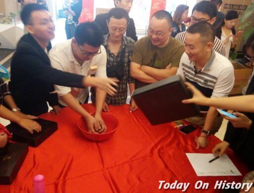 中秋节传统活动闽南博饼